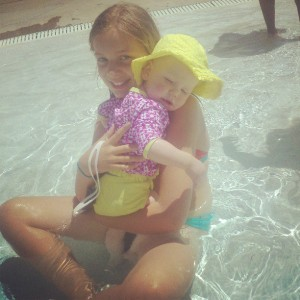 pool snuggles