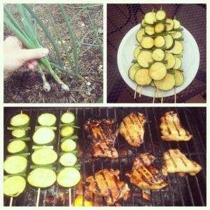 garden grilling